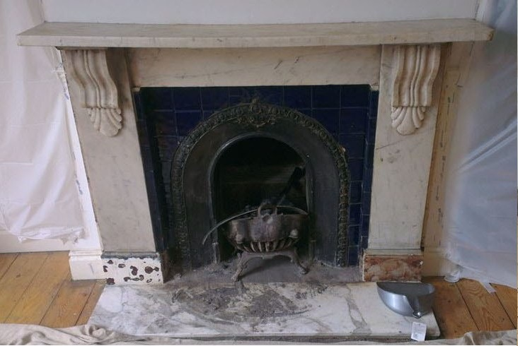 Fireplace Restoration Services Rps, Can You Sandblast Cast Iron Fireplace